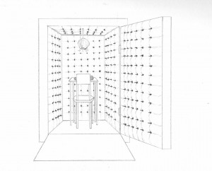 concept drawing: anechoic chamber